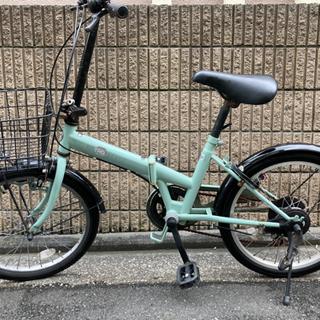 (タイヤ交換)RETRO変速折りたたみ自転車