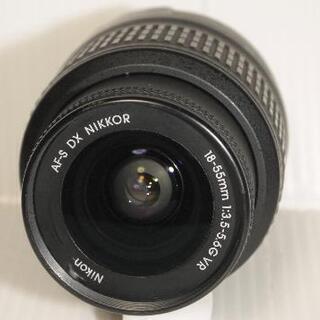 ニコン D70S デジタル一眼+ ズームレンズ18-55mm VRレンズ - 家電