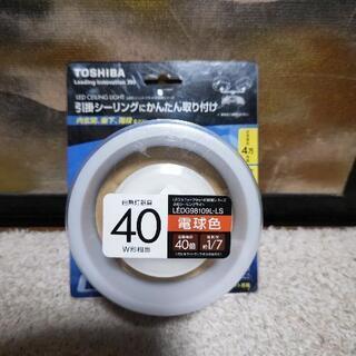 新品☆【照明器具】東芝 LED シーリングライト E-CO…
