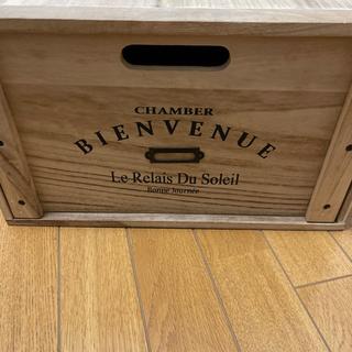 おしゃれ木箱 交換希望です。