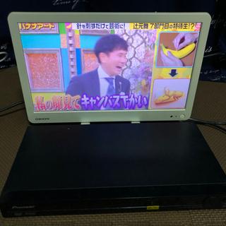 【ネット決済】2014年式液晶テレビ16型+DVDプレーヤー