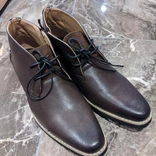 未使用 革靴