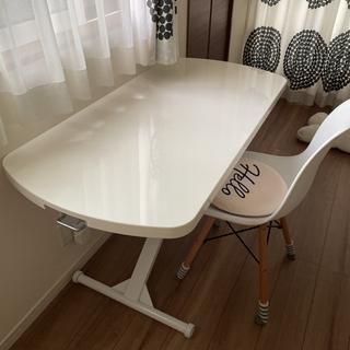 【ネット決済】昇降テーブル*椅子マット付き