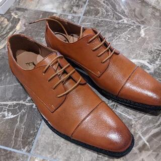 未使用 革靴 42 EEE