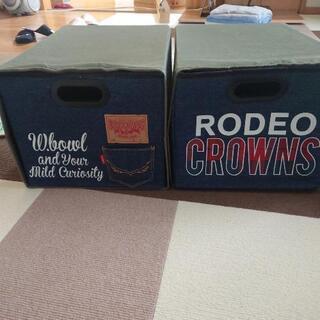 ブランド服RODEO CROWNSの収納