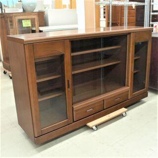 USED 大川工芸 サイドボード W1600