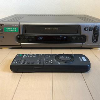 SONY VHSビデオレコーダー SLV-BJ11