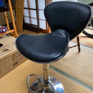 ニトリ カウンターチェア ブラック 椅子 イス