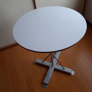 作業台 テーブル 回転 円形