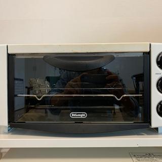 【デロンギ】オーブン&トースター(レンジラック付き)