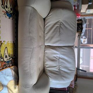 【ネット決済】ベージュのソファ