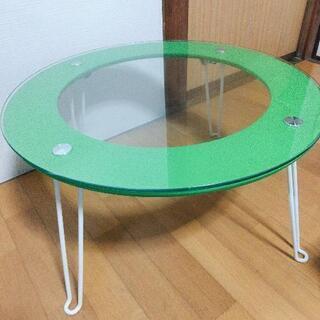 【無料】折り畳み式ローテーブル(円形)