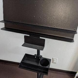 マンハセット 譜面台 アクセサリーボックス付き