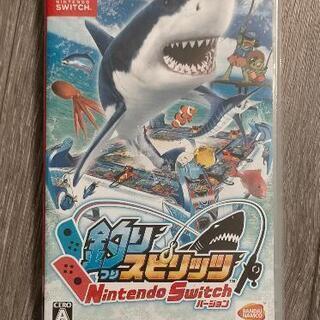 【ネット決済・配送可】釣りスピリッツ Nintendo Swit...