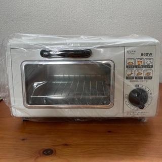 新品 オーブントースター ユーパ レトロ風