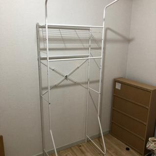 ‼️9/27に来て頂ける方‼️洗濯機収納、ランドリーラック