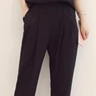 【新品】パンツスーツ(黒)