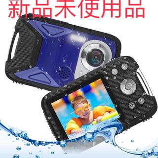 新品未使用 キッズカメラ 子供用 デジタルカメラ 防水 デジカメ...