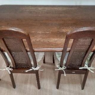 maruni家具 ダイニングテーブル、チェアセット