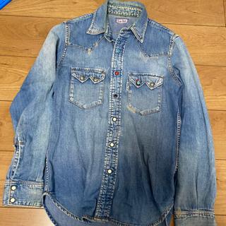 デニムシャツ+ジャケットセット