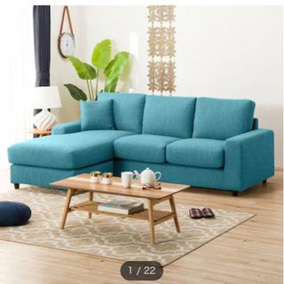 綺麗★ニトリL字型ソファの画像