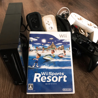 Wii 本体+Wiiスポーツリゾート+ゲームソフト9個