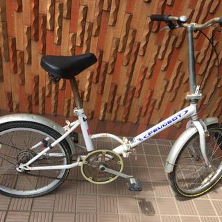 【お取引中】PEUGEOT プジョー 折りたたみ自転車