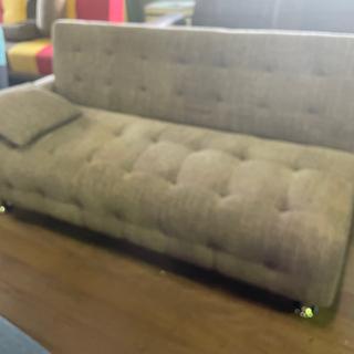 ソファーベッドです!164cm