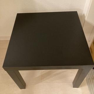 IKEA 黒 机 テーブル
