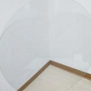直径100cm円形ガラス板