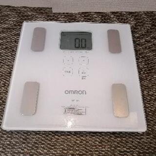 オムロン 体重体組成計 HBF-214-W