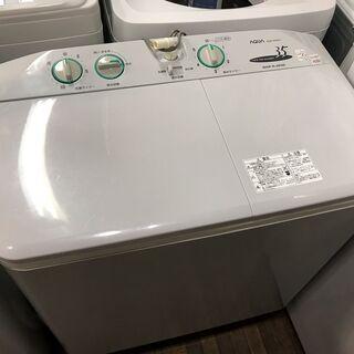 AQUA  アクア 2槽式洗濯機 AQW-N35 2014年製 ...