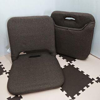 【NITORI】コンパクト収納座椅子 アレックス サイズ/…