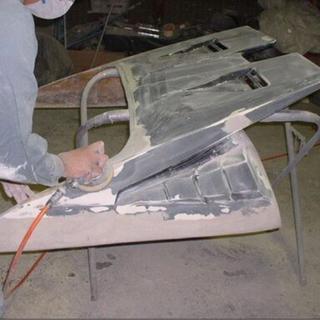 見積もり無料です‼️バニングのエアロ補修・加工・塗装・取り付け #ワンオフエアロ制作 #セミワンオフ加工  - 名張市