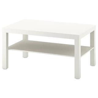 イケア IKEA テーブル ホワイトの画像