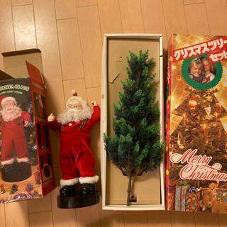 クリスマスツリー サンタクロース