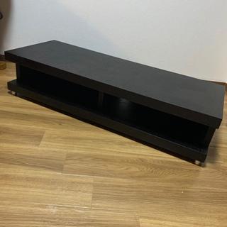 【無料!】テレビボード ブラック 1200mm×450mm 高さ...