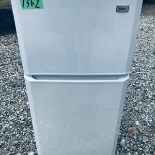1362番 Haier✨冷凍冷蔵庫✨JR-N106H‼️