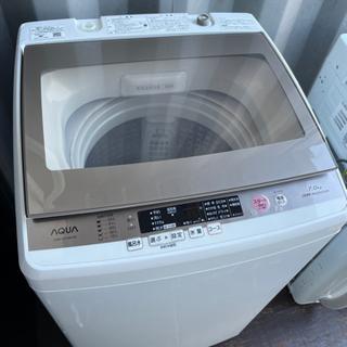 No.1074 AQUA 7kg洗濯機 2017年製 🚚近隣配送無料🚚