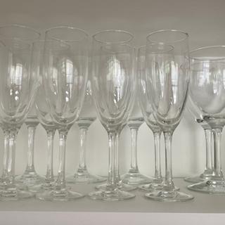 ワイングラス 赤 白 コップ