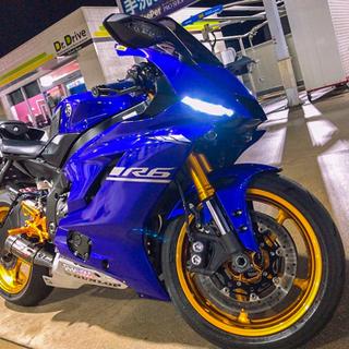 【ネット決済】Yamaha yzf-r6 2017年モデル プレ...