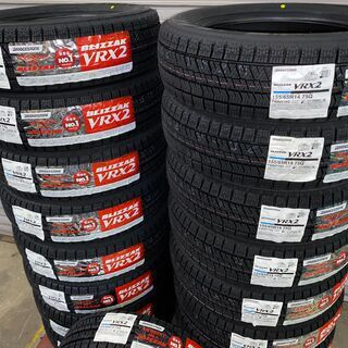 BS VRX2 155/65R14新品4本セット ☆2021年製...