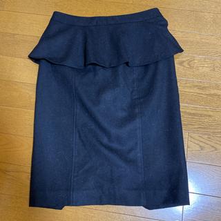 ピンキーアンドダイアン ペプラムスカート