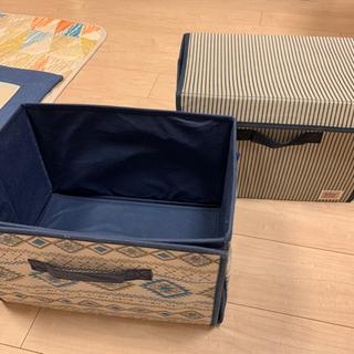 衣服収納ボックス2個