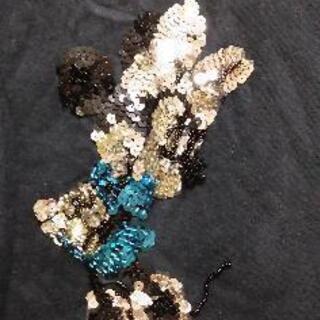 きらきらミニーマウス半袖ティーシャツキッズ - 子供用品