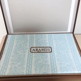未使用品 ARAMIS  アラミス シーツ ブルー