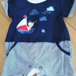 【ネット決済・配送可】0-3ヶ月 ベビー服 フランス製