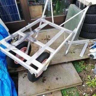 アルミ製 2輪車 キャリーカー