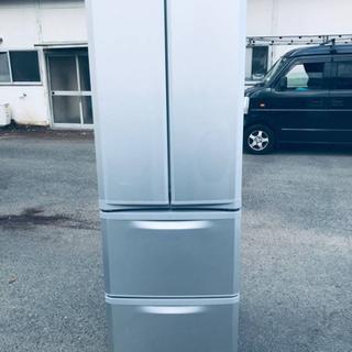 ①‼️400L‼️1184番 三菱✨ノンフロン冷凍冷蔵庫✨…