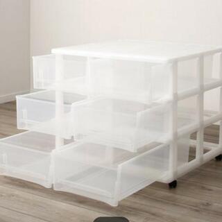 大至急💦💦押入れ収納ケース✨(3段2列)ニトリ - 家具